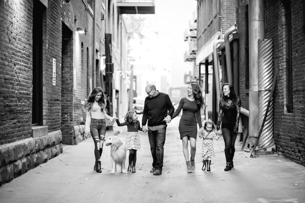 family portrait Denver CO
